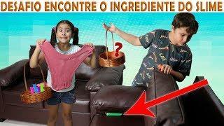 DESAFIO ENCONTRE OS INGREDIENTES DO SLIME ★ Find Your Slime Ingredients Challenge!!!