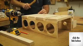 How to make a Wine Rack out of Pallets - Wolrd's best wine stand