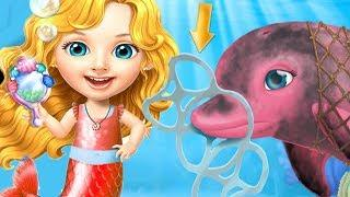 Sweet Baby Girl Mermaid Life Kids Game - Play Fun Ocean Explorer And Makeover Games For Girls