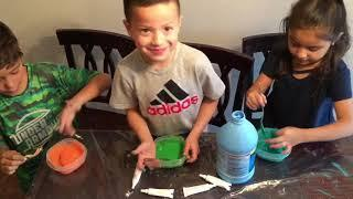 HOW TO MAKE SLIME | QUICK & EASY