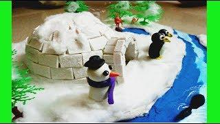 IGLOO model for school project, How to make igloo house [easy 2019]