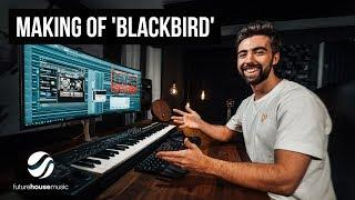 Making Of 'Blackbird' (Future House Music) | vlog ish 16