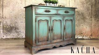 Creating a Rustic Aged look Painting Furniture with Chalk Paint