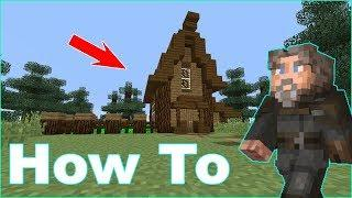 How To Make a Starter House!|Minecraft Tutorial| Step by Step