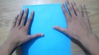 How to make paper aeroplane