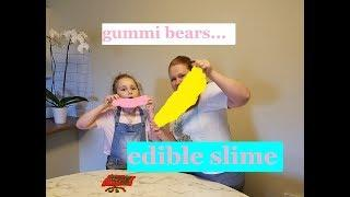 edible slime recipe, slime, tasty slime, how to make slime, how to make edible slime, making edible