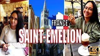 Saint Emilion France - Bergerac Bordeaux Wine Region in 4K HD!