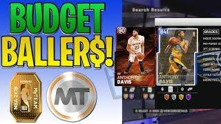 NBA 2K19 MyTEAM How to Get Tokens with Auction House Budget Ballers ep 13