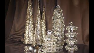4 DIY Crystal & Sparkle Christmas Trees | My Christmas My Style 2018