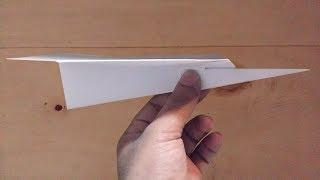 How To Make A Paper Airplane That Fly Far | Long Flying Paper Planes | Best Paper Aeroplane