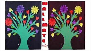 DIY Unique Wall Decoration Ideas With Paper | DIY Wall Hanging Making Tutorial