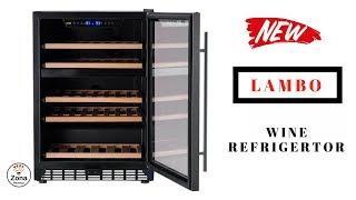 ???? LANBO    ❤️ 46 Bottle  Wine Cooler Fridge - Review     ✅