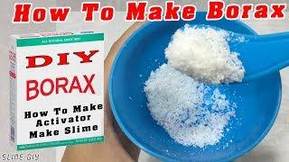How To Make Borax With 2 Ingredient! Success 100%! DIY Fluffy Slime