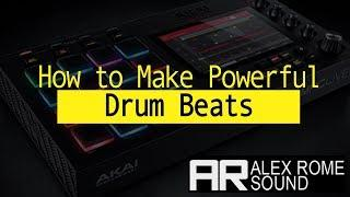How to Make Powerful Drum Beats (Future Bass, Trap, House, EDM)