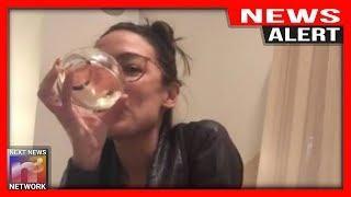 NEWS ALERT! AOC CRACKS During BIZZARE Wine-Fueled Livestream on her Living room floor