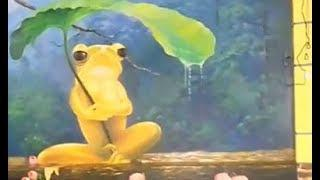 Drawing And Painting Frog On Wall - Decorative Painting Art