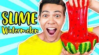 Making SLIME out of WATERMELON | Learn How To Make DIY Edible Slime Challenge | 108Life Hacks