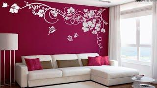 Top wall paint techniques  Home wall decoration ideas 2019