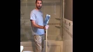 Painting Tip for Interior House Paint - Perfect smooth walls using back sanding technique