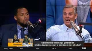 Eddie House: Is LeBron downplaying injury to make Lakers more attractive? - The Herd