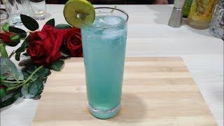 Blue curacao radler mocktail || how to make raddler || the  mocktail house