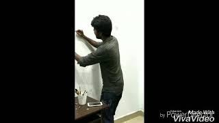 Wall painting | Jack sparrow |