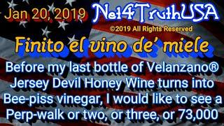 #Net4TruthUSA – Before my Honey wine turns to vinegar
