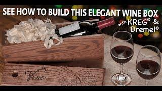 DIY Wine Gift Box How to Guide