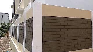 Residential Precast Compound Wall Designs