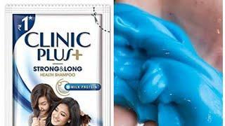 #DIYclinicplusshampooslime How to make slime with clinic plus shampoo/How to make shampoo slime