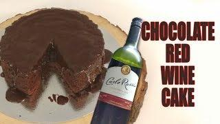 Chocolate Red Wine Cake - How to make step by step guide