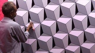 3d wall texture design | 3d wall painting | 3d wall decoration effect design ideas | interior design