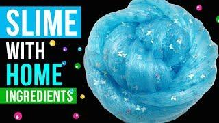 HOME INGREDIENTS SLIME! Easy TOOTHPASTE Slime Recipes Under 5 Minutes