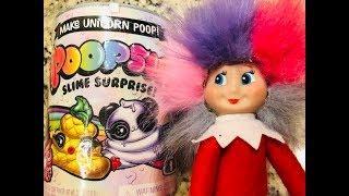 Poopsie Slime Surprise Unboxing Elf on the Shelf
