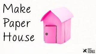 DIY Paper House | How to Make Amazing Paper House | Origami Paper House | DIY Craft Paper