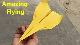 Best Paper Airplane With Flying Review | How To make The Best Paper Airplane That Flies Far
