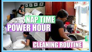 HOW TO CLEAN YOUR HOUSE FAST AND EASY IN 1 HOUR | POWER HOUR CLEAN WITH ME | NIA NICOLE