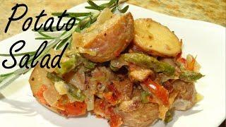 Lemon Pepper Potato Salad - Potato Salad with Bacon Recipe