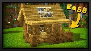 Minecraft - How To Build A Easy Survival Starter House