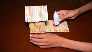 How to Make a house with ice cream sticks | 4-Minute Crafts