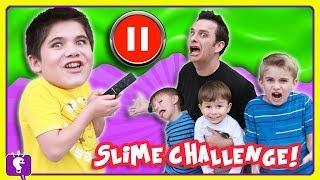 PAUSE CHALLENGE! SLIME Edition HAHAHA by HobbyKidsTV