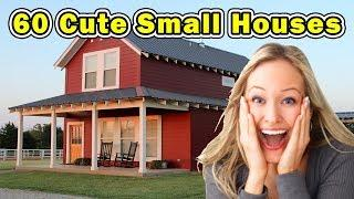 60 Cute Small Houses - DIFFERENT STYLES OF HOMES