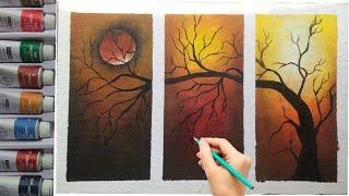 How to draw easy and simple wall decorative painting by own...