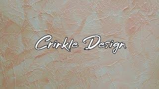 ???? Asian Paints Royale Play Non-Metallic Crinkle Design    Interior Design ????