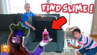 FIND Your Slime Ingredients! GAME TRIXSTER Challenge Hunt on HobbyFamilyTV