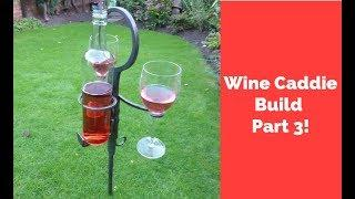 Wine Caddy Build part 3! How to Finish Forged Projects! Great Gift Idea!