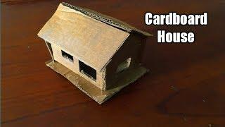 How To Make a Small Cardboard House | SIMPlE AND EASY WAY