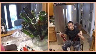 Homemade Wine Bottling Process