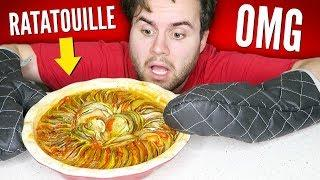 I Tried Making Gourmet Ratatouille... OMG