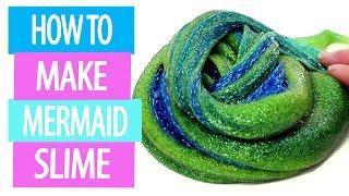 MERMAID SLIME! How To Make Slime Video